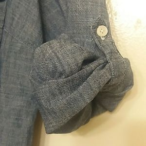 J Crew Women Top Denim Shirt Size Medium